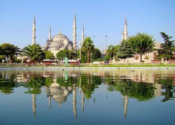 トルコのスルタンアフメット・モスク