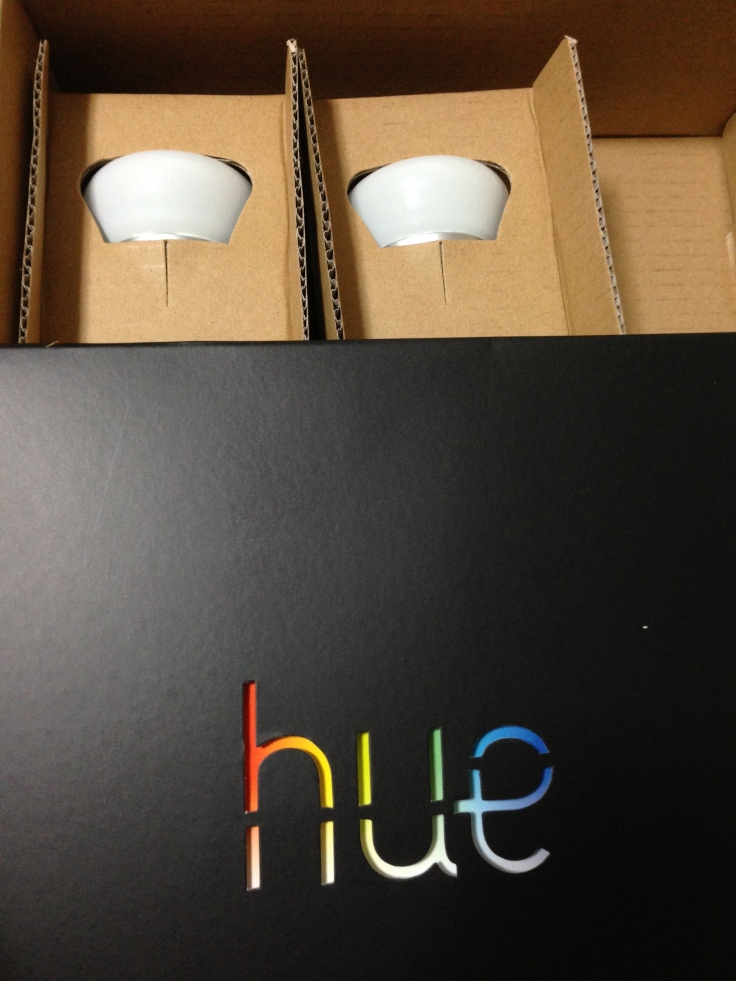 Hue packaged