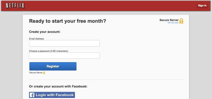 メールアドレスとパスワードを登録しよう