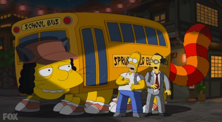 シンプソンズの猫バス